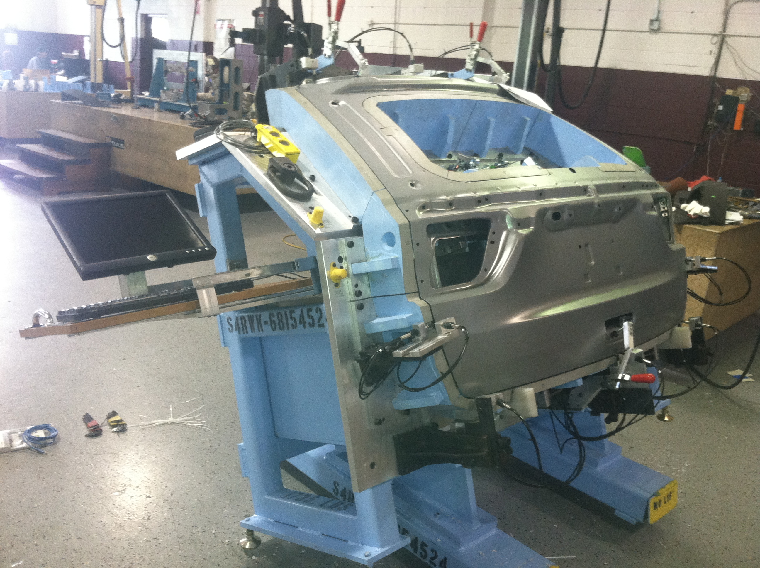 Automotive Body Panel Checking Fixtures from Bermont