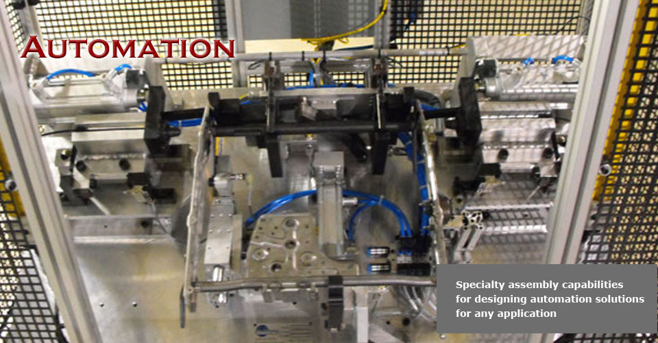 Build Automated solutions into your manufacturing process