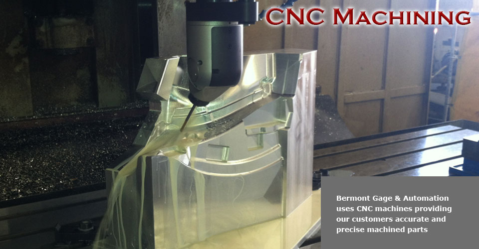 Accurate machining with CNC cutting capability