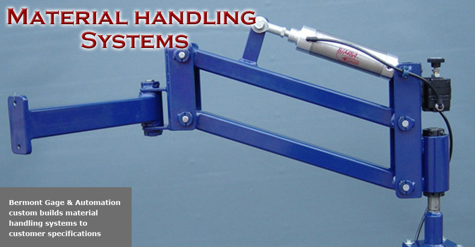 Ergonomic material handling systems
