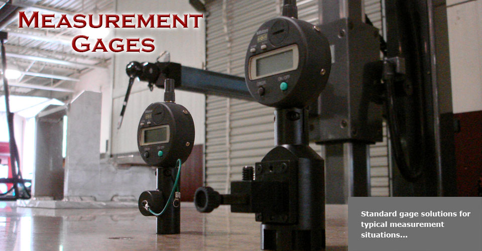 custom gage solutions for your manufacturing process
